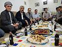 Iraq 2011  <br /> Dinner in the house of Akram Hirki in the village of Kfar<br /> Irak 2011<br /> Diner dans la maison de Akram Hirki a Kfar