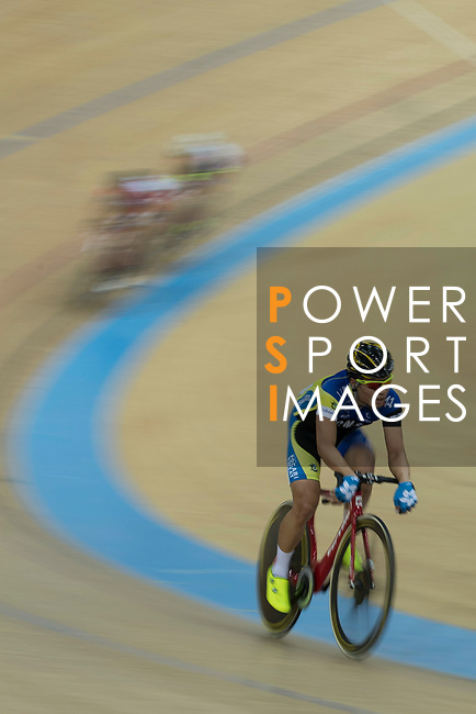 Ko Siu Wai of the IND competes in the Men Elite - Scratch 10km Final category during the Hong Kong Track Cycling National Championships 2017 at the Hong Kong Velodrome on 18 March 2017 in Hong Kong, China. Photo by Chris Wong / Power Sport Images