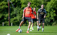 Thursday 24 July 2014<br /> Pictured: Chico Flores<br /> Re: Swansea City Training at their Fairwood Training facility, Wales, UK