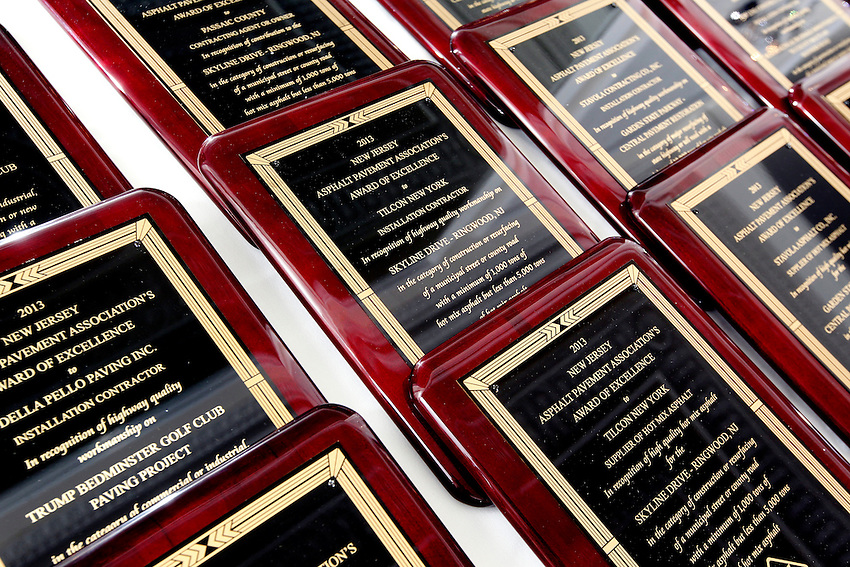 The 2013 New Jersey Asphalt Pavement Association Annual Awards Program at the Molly Pitcher in Red Bank on May 15, 2014.  photo by Andrew Mills