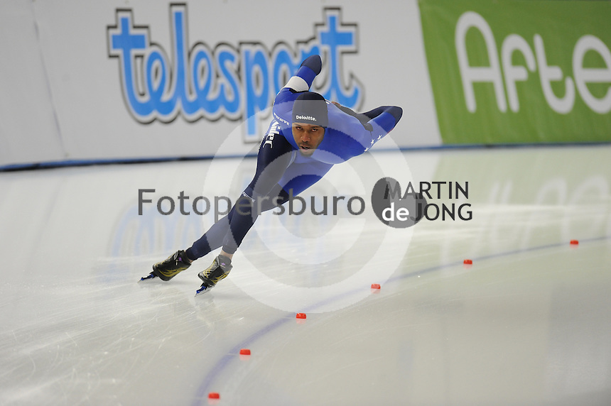 SPEEDSKATING: BERLIN: Sportforum Berlin, 27-01-2017, ISU World Cup, 1500m Men A Division, Shani Davis (USA), ©photo Martin de Jong