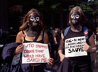 WTO<br /> <br /> demonstration circa 2003<br /> <br /> FILE PHOTO : Agence quebec Presse