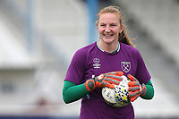 Courtney Brosnan of West Ham during West Ham United Women vs Arsenal Women, Women's FA Cup Football at Rush Green Stadium on 26th January 2020