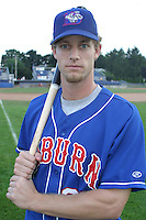 September 3, 2003:  A.J. Porfirio (25) of the Auburn Doubledays, Class-A affiliate of the Toronto Blue Jays, during a game at Dwyer Stadium in Batavia, NY.  Photo by:  Mike Janes/Four Seam Images