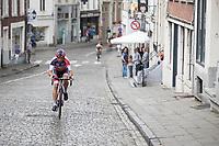 Philipp Walsleben (DEU/Beobank-Corendon) attacking on a cobbled climb<br /> <br /> Dwars door het Hageland (1.1)<br /> 1 Day Race: Aarschot > Diest (194km)
