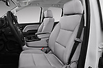 Front seat view of a 2018 GMC Sierra 3500HD Double 4WD Cab Long Box 4 Door Pick Up front seat car photos