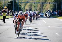 Ellen van Dijk (NED/Trek-Segafredo)<br /> <br /> Women Elite - Road Race (WC)<br /> from Antwerp to Leuven (158km)<br /> <br /> UCI Road World Championships - Flanders Belgium 2021<br /> <br /> ©kramon
