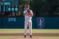 STANFORD, CA - MAY 27: Brendan Beck during a game between Oregon State University and Stanford Baseball at Sunken Diamond on May 27, 2021 in Stanford, California.