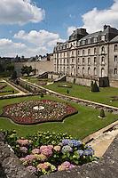 Europe/France/Bretagne/56/Morbihan/Vannes: Les jardins et le Château de l'Hermine