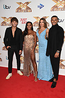 Eyal Booker, Samira Mighty, Zara McDermott and Wes Nelson<br /> at the photocall of X Factor Celebrity, London<br /> <br /> ©Ash Knotek  D3524 09/10/2019