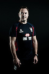 Justin Faulkner poses during the Hong Kong 7's Squads Portraits on 5 March 2012 at the King's Park Sport Ground in Hong Kong. Photo by Andy Jones / The Power of Sport Images for HKRFU