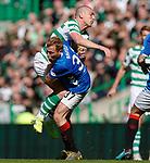31.03.2019 Celtic v Rangers: Scott Arfield and Scott Brown