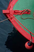 Europe/France/Bretagne/29/Finistère/Douarnenez : Le port, détail d'un bateau de pêche