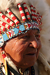 A Native American Indian Chief Portrait