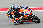 Karel Hanika (98) in action during the Red Bull Grand Prix of the Americas practice sessions at Circuit of the Americas racetrack in Austin,Texas.