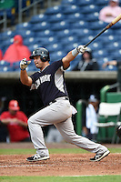 New York Yankees catcher Eddy Rodriguez (67) during a Spring Training game against the Philadelphia Phillies on March 27, 2015 at Bright House Field in Clearwater, Florida.  New York defeated Philadelphia 10-0.  (Mike Janes/Four Seam Images)