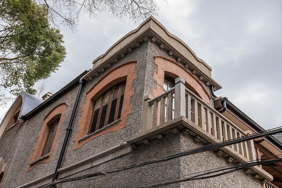Senior Staff Quarters On Rue Ferguson, Partially Completed Restoration In Progress.