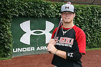 August 7, 2009:  Infielder Zach Alvord (12) of the Baseball Factory team during the Under Armour All-America event at Wrigley Field in Chicago, IL.  Photo By Mike Janes/Four Seam Images