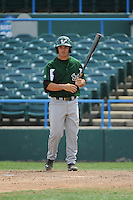 University of South Florida Bulls infielder Andres Leal (9) during a game against the Temple University Owls at Campbell's Field on April 13, 2014 in Camden, New Jersey. USF defeated Temple 6-3.  (Tomasso DeRosa/ Four Seam Images)
