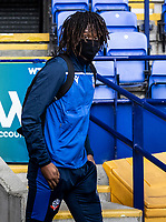 Bolton Wanderers' Peter Kioso arriving at the ground<br /> <br /> Photographer Andrew Kearns/CameraSport<br /> <br /> The EFL Sky Bet League Two - Bolton Wanderers v Oldham Athletic - Saturday 17th October 2020 - University of Bolton Stadium - Bolton<br /> <br /> World Copyright © 2020 CameraSport. All rights reserved. 43 Linden Ave. Countesthorpe. Leicester. England. LE8 5PG - Tel: +44 (0) 116 277 4147 - admin@camerasport.com - www.camerasport.com