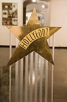 Europe/Pologne/Lodz: Musée d'Art Cinématographique situé dans le Palais de l'industriel Charles Scheibler -dossier de Chaise Hollylodz