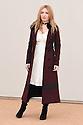 Josephine de La Baume<br /> arrives for the Burberry Menswear A/W 16 fashion show, Perks Field, Hyde Park, London<br /> <br /> <br /> ©Ash Knotek  D3064 11/01/2016