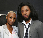 Jeremy O. Harris with his mom attends the Vineyard Theatre Paula Vogel Playwriting Award honoring Jeremy O. Harris on October 12, 2018 at the National Arts Club in New York City.