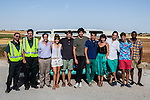 "Spanish actors Diego Paris, Antonio Dechent, Jordi Sanchez,Silvia Alonso, Salva Reina, Andres Velencoso, Alvaro Diaz, Megan Montanier, David Guapo, Eduardo Casanova and Bore Buika during the filming of the movie "" Senor, dame paciencia"" directed by Alvaro Diaz. September 06, 2016. (ALTERPHOTOS/Rodrigo Jimenez)"