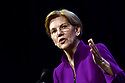 Sen. Elizabeth Warren (D-MA) speaks at the Netroots Nation annual conference in New Orleans, Fri. Aug. 3, 2018.