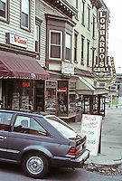 Albany: Near corner of Madison and Fulton--signs of a former neighborhood--June 1988.