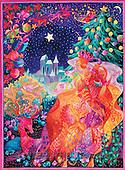 Interlitho, FANTASY, paintings, castle, vertical, KL, KL2331,#fantasy# illustrations, pinturas