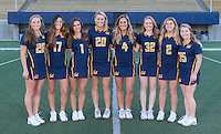 Berkeley, CA - December 2, 2016: The 2017 Cal Bears Women's Lacrosse Team.