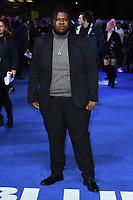 "Kadeem Ramsay<br /> arriving for the ""Blue Story"" premiere at the Curzon Mayfair, London.<br /> <br /> ©Ash Knotek  D3534 14/11/2019"