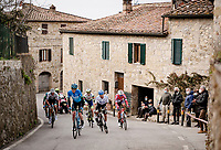 the breakaway group<br /> <br /> Stage 2 from Camaiore to Chiusdino (202km)<br /> <br /> 56th Tirreno-Adriatico 2021 (2.UWT) <br /> <br /> ©kramon