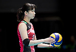 Wing spiker Sarina Koga of Japan in action during the FIVB Volleyball World Grand Prix - Hong Kong 2017 match between Japan and Serbia on 22 July 2017, in Hong Kong, China. Photo by Yu Chun Christopher Wong / Power Sport Images
