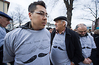 Gedenken an Hatun Sueruecue (U-Umlaut!)<br />Am Freitag den 7. Februar 2014 gedachten in Berlin-Tempelhof an die am 7. Februar 2005 ermordete Hatun Sueruecue. Die Kurdin Hatun Sueruecue 2005 von ihren Geschwistern ermordet, da sie sich nicht der traditionellen Lebensart ihrer Familie anschliessen und ein selbstbestimmtes Leben fuehren wollte.<br />Der Bezirk hat zur Mahnung einen Gedenkstein aufgestellt, an dem sich jaehrlich in Gedenken an Hatun Sueruecue versammelt wird.<br />Im Bild: <br />7.2.2014, Berlin<br />Copyright: Christian-Ditsch.de<br />[Inhaltsveraendernde Manipulation des Fotos nur nach ausdruecklicher Genehmigung des Fotografen. Vereinbarungen ueber Abtretung von Persoenlichkeitsrechten/Model Release der abgebildeten Person/Personen liegen nicht vor. NO MODEL RELEASE! Don't publish without copyright Christian-Ditsch.de, Veroeffentlichung nur mit Fotografennennung, sowie gegen Honorar, MwSt. und Beleg. Konto:, I N G - D i B a, IBAN DE58500105175400192269, BIC INGDDEFFXXX, Kontakt: post@christian-ditsch.de<br />Urhebervermerk wird gemaess Paragraph 13 UHG verlangt.]