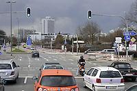 - Germany, Munich, traffic on Mittlerer Ring, high capacity ring road around the city centre....- Germania, Monaco di Baviera, traffico sul Mittlerer Ring, strada di circonvallazione ad alta capacità  intorno al centro della città