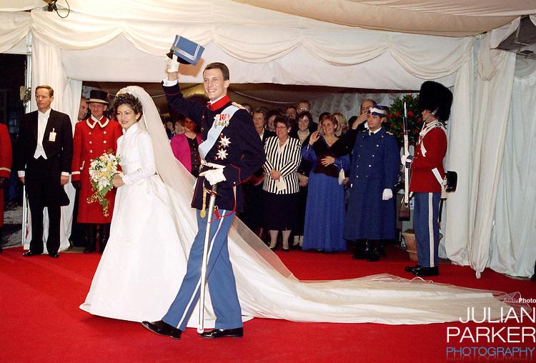 The Wedding of Prince Jochim of Denmark to Alexandra Manley at Frederiksborg Castle in Denmark