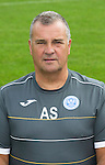 St Johnstone FC 2014-2015 Season Photocall..15.08.14<br /> Alistair Stevenson (Youth Development Manager)<br /> Picture by Graeme Hart.<br /> Copyright Perthshire Picture Agency<br /> Tel: 01738 623350  Mobile: 07990 594431
