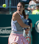 Andrea Petkovic (GER)  defeats Madison Brengle (USA) 6-4, 6-4  at the Family Circle Cup in Charleston, South Carolina on April 9, 2015.