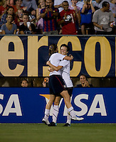 Megan Rapinoe, Heather O'Reilly. The USWNT defeated Sweden, 3-0.
