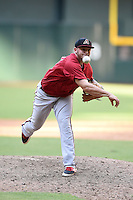 Arizona Diamondbacks pitcher Joey Krehbiel (18) during an Instructional League game against the Oakland Athletics on October 10, 2014 at Chase Field in Phoenix, Arizona.  (Mike Janes/Four Seam Images)