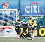 Wallsend Boys Club vs Yau Yee League Masters during the Masters of the HKFC Citi Soccer Sevens on 21 May 2016 in the Hong Kong Footbal Club, Hong Kong, China. Photo by Li Man Yuen / Power Sport Images