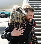 Spanish Point man John Burke, is greeted by his sister June on his arrival back to Shannon Airport, following his successful attempt, being the first Clare person ever to climb Mount Everest. Photograph by John Kelly.