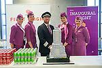 Isavia - Fyrsta flug WoW Air til New York