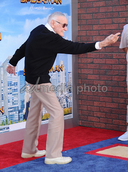"""28 June 2017 - Hollywood, California - Stan Lee. """"Spider-Man: Homecoming"""" Los Angeles Premiere held at the TCL Chinese Theatre in Hollywood. Photo Credit: Birdie Thompson/AdMedia"""