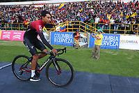 TUNJA - COLOMBIA, 11-02-2020: Egan Bernal (COL) del equipo TEAM INEOS durante la primera del Tour Colombia 2.1 2020 que se correrá en Boyacá, Colombia entre el 11 y 16 de febrero de 2020. / Egan Bernal (COL) of TEAM INEOS during the launch of Tour Colombia 2.1 2020 that that will run between February 11 and 16, 2020 in Boyacá, Colombia.  Photo: VizzorImage / Darlin Bejarano / Cont