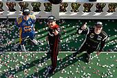 Verizon IndyCar Series<br /> ABC Supply 500<br /> Pocono Raceway, Long Pond, PA USA<br /> Sunday 20 August 2017<br /> Will Power, Team Penske Chevrolet, podium, Alexander Rossi, Curb Andretti Herta Autosport with Curb-Agajanian Honda, Josef Newgarden, Team Penske Chevrolet<br /> World Copyright: Michael L. Levitt<br /> LAT Images
