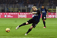 Radja Nainggolan of Internazionale scores goal of 2-1 <br /> Milano 17-2-2019 Stadio Giuseppe Meazza in San Siro Football Serie A 2018/2019 FC Internazionale  - UC Sampdoria Foto Image Sport / Insidefoto