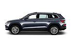 Car Driver side profile view of a 2017 Skoda Kodiaq Style 5 Door SUV Side View